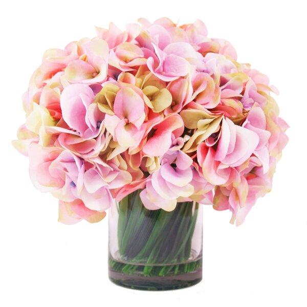 Hydrangea Water Vase by Creative Displays, Inc.