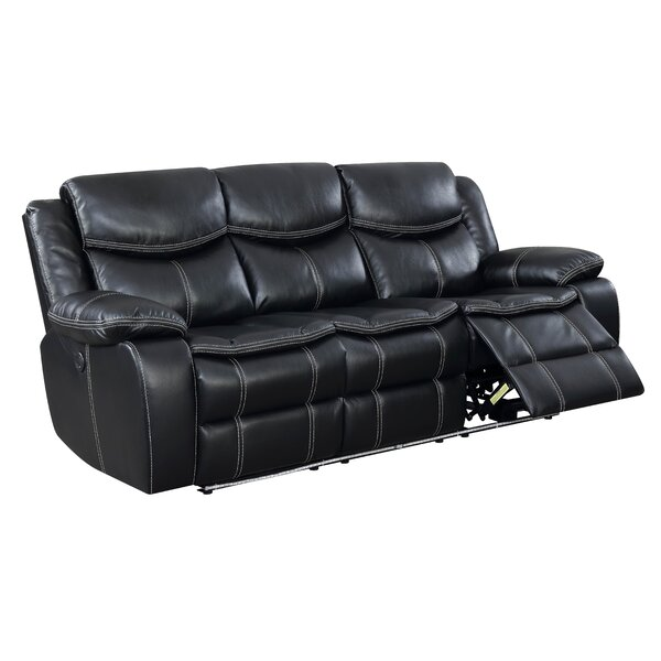 Best #1 Faulk Reclining Sofa By Red Barrel Studio