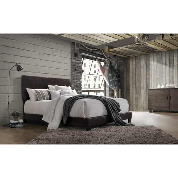 Laga Upholstered Standard Bed by Wrought Studio