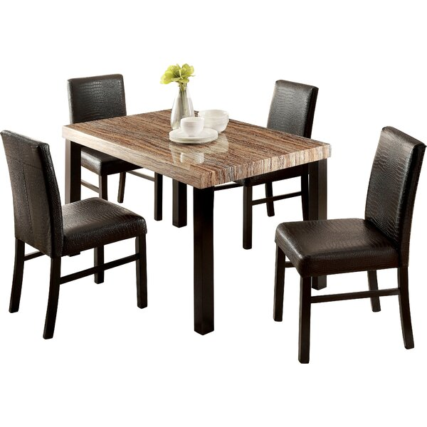 Baylor 5 Piece Dining Set by Hokku Designs