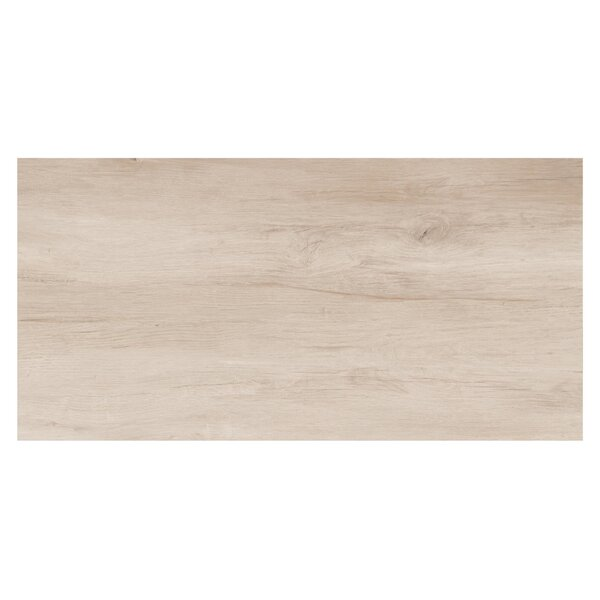 Travel 12 x 48 Porcelain Wood Look Tile in North White by Travis Tile Sales