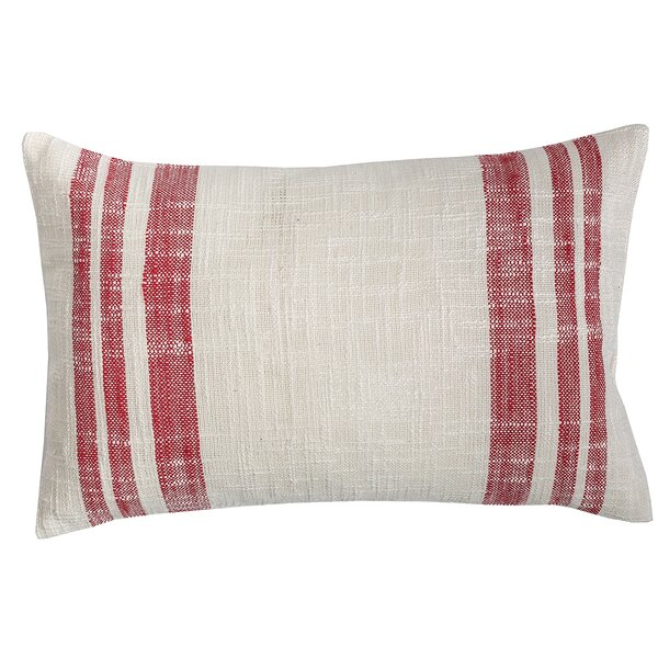 Gloria Morgan Cotton Lumbar Pillow by Laurel Foundry Modern Farmhouse