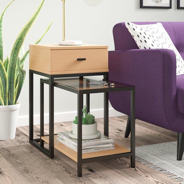 Adrastus 2 Piece Nesting Tables by Ivy Bronx