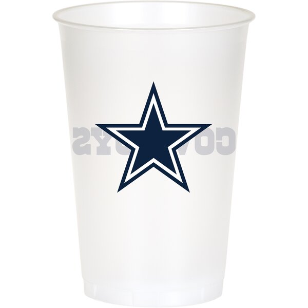 NFL 20 oz. Plastic Everyday Cup (Set of 24) by Cre