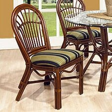 Amarillo Side Chair by Boca Rattan