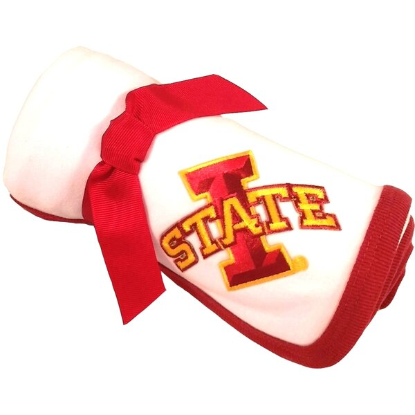 Iowa State Cyclones Baby Receiving Blanket by Future Tailgater