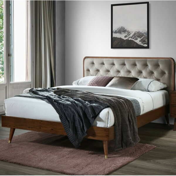 Campion Queen Upholstered Platform Bed by Corrigan Studio