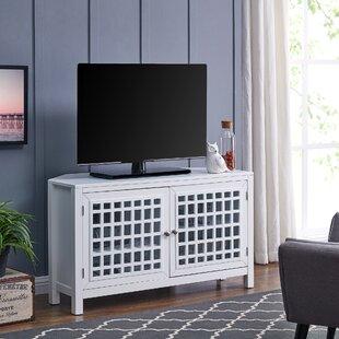 Best Reviews Chitrigemath Corner TV Stand for TVs up to 40 ByHighland Dunes