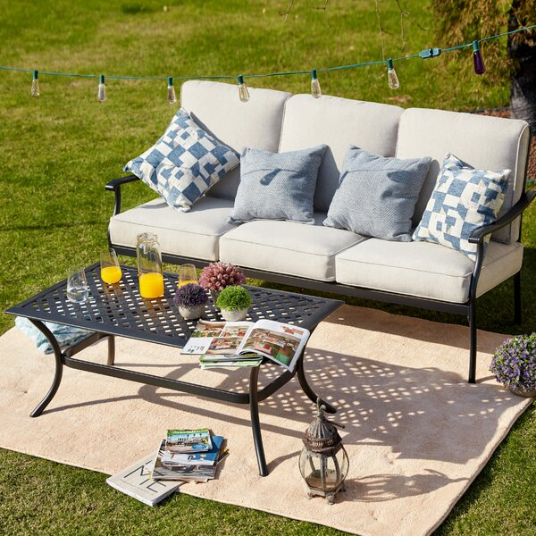 Sasaki 2 Piece Sofa Seating Group with Cushions by Charlton Home