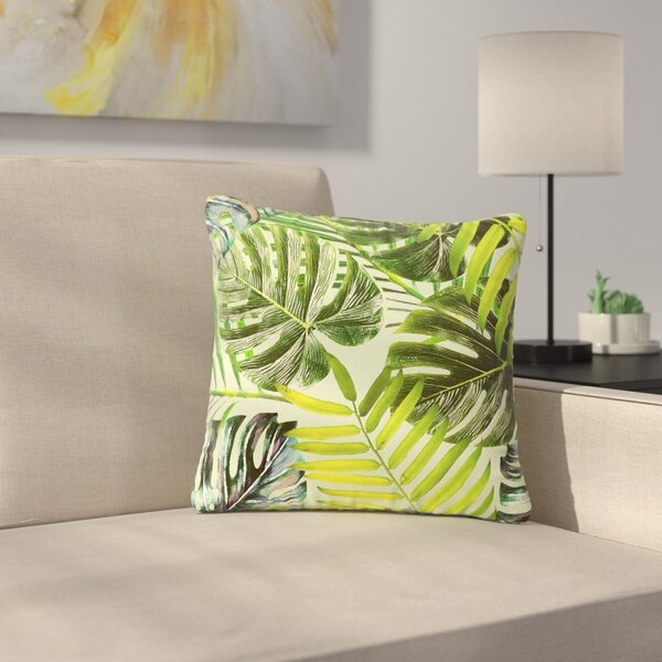 Alison Coxon Jungle Outdoor Throw Pillow by East Urban Home