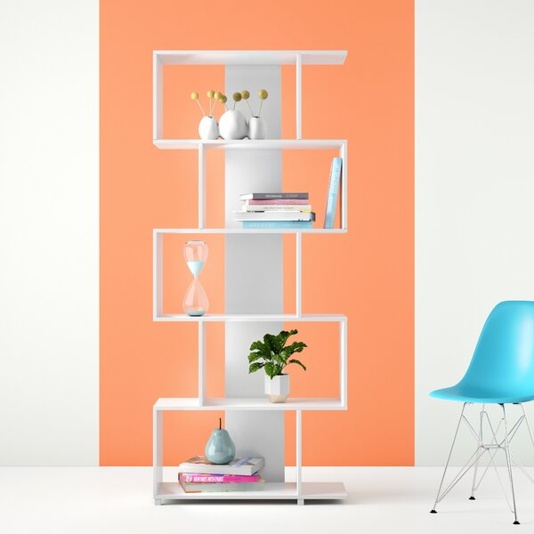 Inexpensive Angelica Geometric Bookcase by Hashtag Home