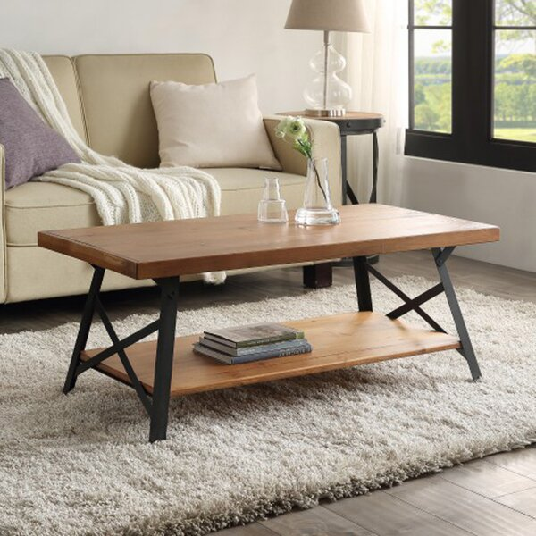 Coffee Table With Storage By Gracie Oaks