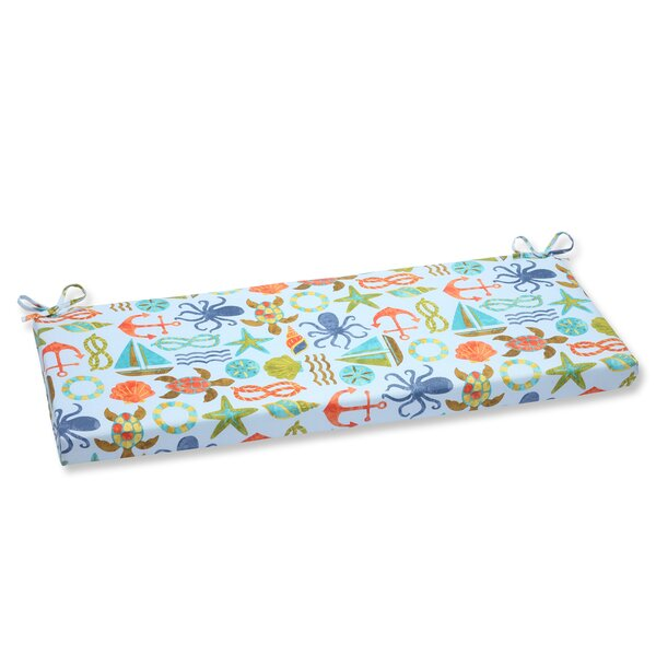 Seapoint Indoor/Outdoor Bench Cushion by Pillow Perfect