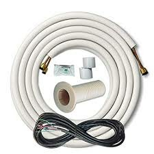 Insulated Copper and Wire Line Set Air Conditioner Cable by Cooper&Hunter