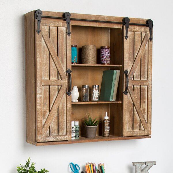 Walhalla 30 W x 27.25 H Wall Mounted Cabinet by Laurel Foundry Modern Farmhouse