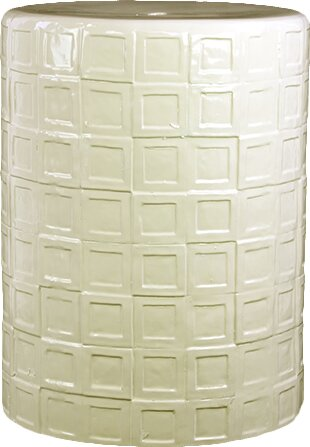 Ceramic Stool by Woodland Imports