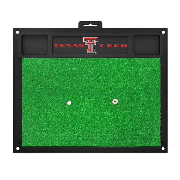 NCAA Texas Tech University Golf Hitting Mat by FANMATS