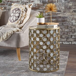 Compare & Buy Shea Mirrored End Table by Mercer41