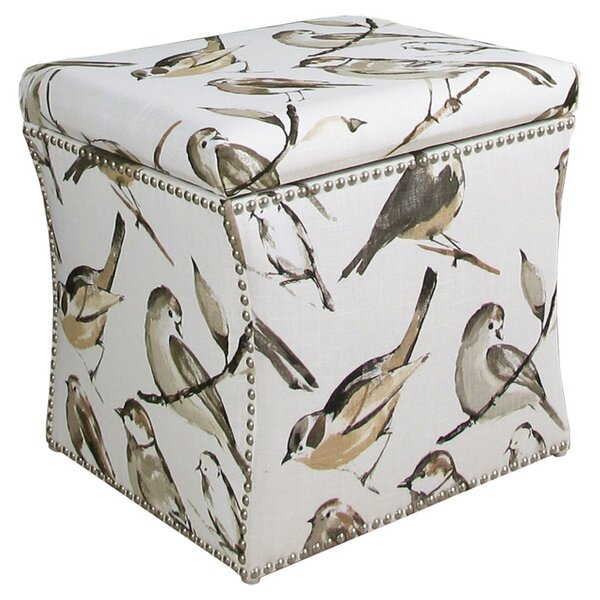 Oiseaux Storage Ottoman by Skyline Furniture