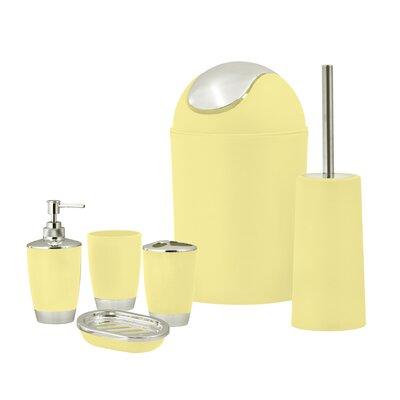 yellow bathroom accessories.  https secure img1 ag wfcdn com im 32819808 resiz