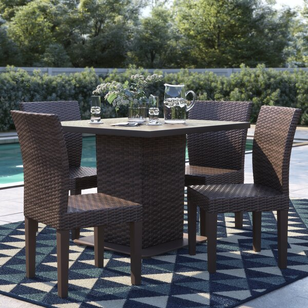 Stratford 5 Piece Dining Set by Sol 72 Outdoor