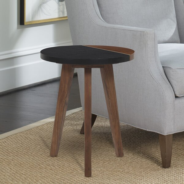Iowa Park 3 Legs End Table By George Oliver