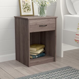 Shelley 1 Drawer Nightstand by Laurel Foundry Modern Farmhouse