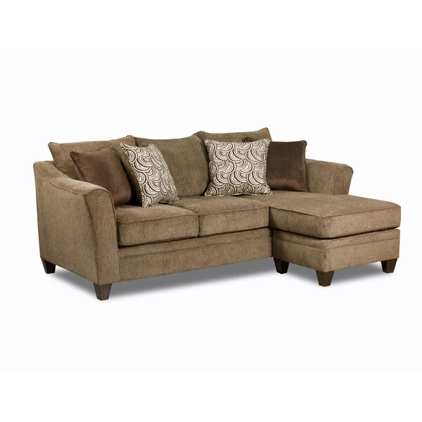 Shop Affordable Shorey Reversible Sectional by Winston Porter by Winston Porter