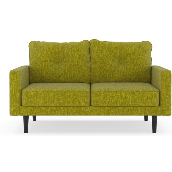 Crabill Pebble Weave Loveseat by Corrigan Studio