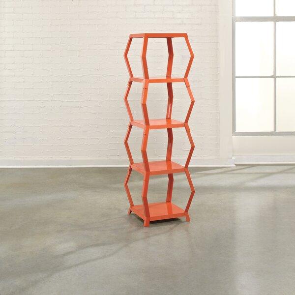 Deford Geometric Bookcase by Ebern Designs