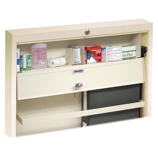 Deluxe 23 W x 14 H Wall Mounted Cabinet by Omnimed