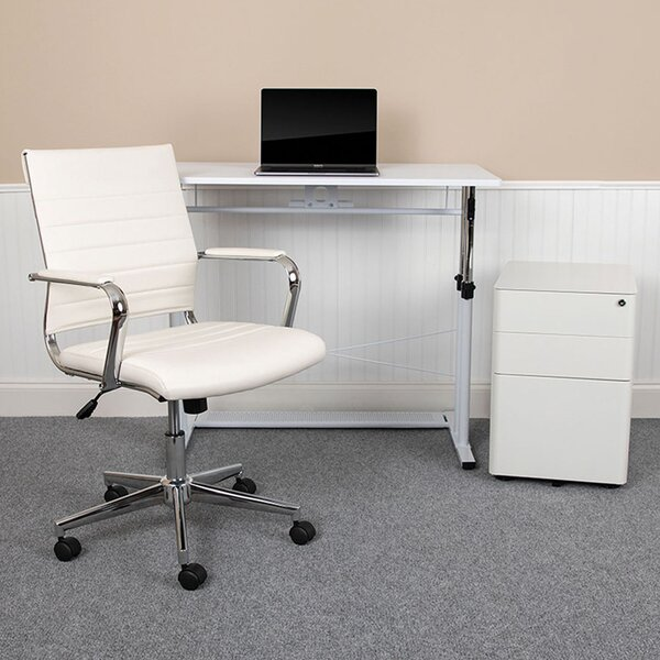 Overlake Desk, Filing Cabinet, Chair Set