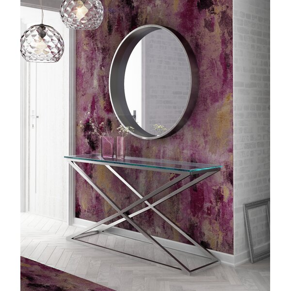 Pelley Console Table With Mirror By Orren Ellis