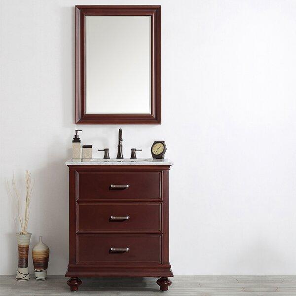 Vaughn 30 Single Vanity Set with Mirror by Alcott Hill