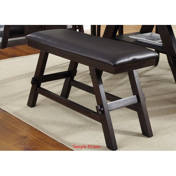 Mckinnie Upholstered Bench by Charlton Home