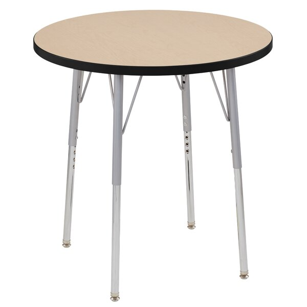 Maple Contour Thermo-Fused Adjustable 30 Circular Activity Table by ECR4kids