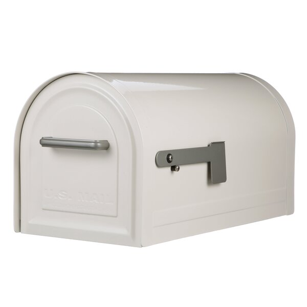 Reliant Locking 11 in x 11 in Steel Post Mounted Mailbox by Gibraltar Mailboxes