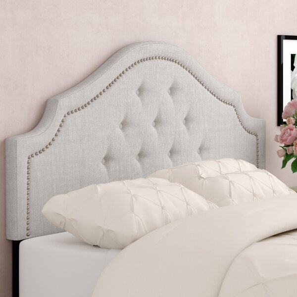 Teri Upholstered Panel Headboard by Greyleigh