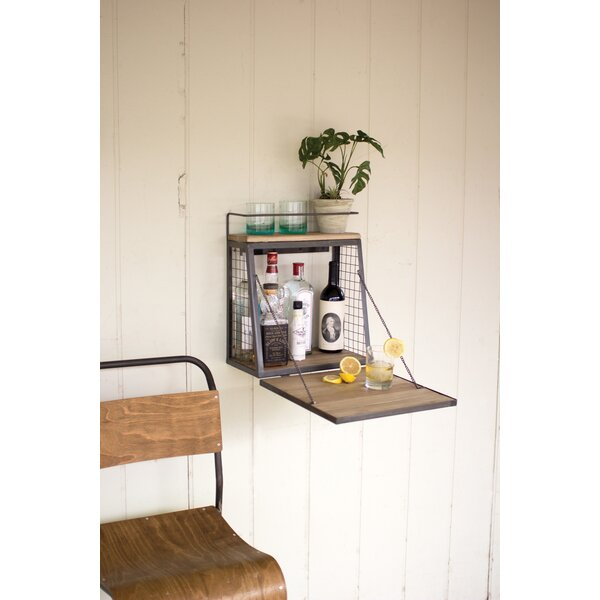 Guadalupe Bar Floating Shelf by Trent Austin Design