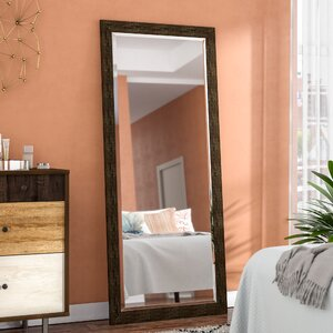 Tarpon Brushed Classic Extra Tall Floor Mirror