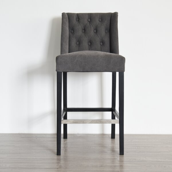 Demarco 29 Bar Stool by Charlton Home