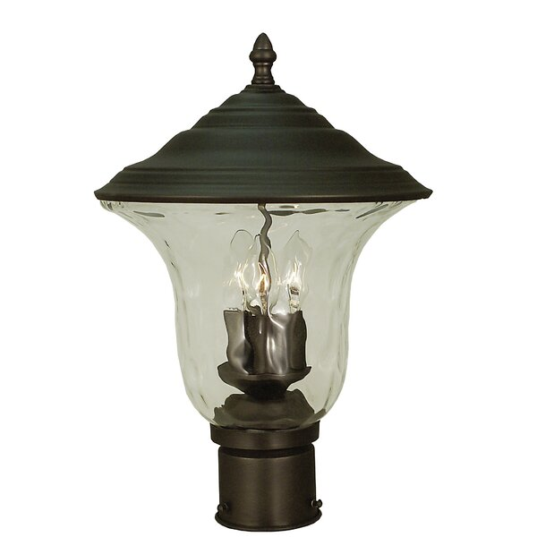 Hartford Outdoor 3-Light Lantern Head by Framburg
