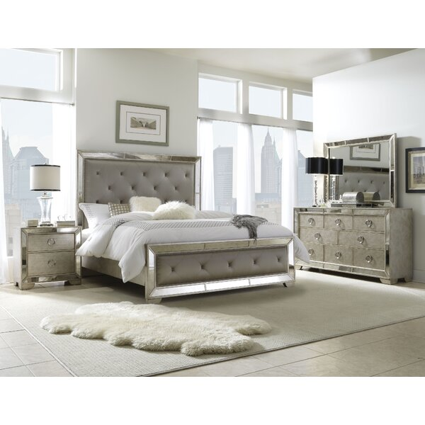 Halstead Panel Configurable Bedroom Set by House of Hampton