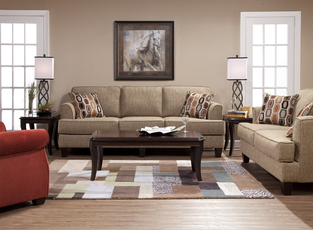 Andover mills nordberg configurable living room set for Living room sets under 800