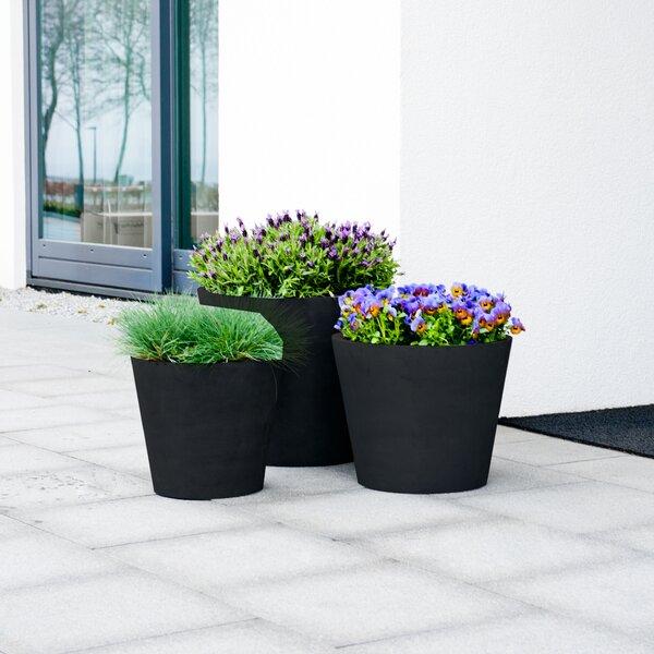 Cantara Fiberstone Pot Planter by Orren Ellis