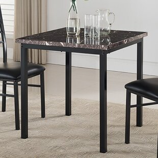 Square kitchen dining tables youll love wayfair kandi square dining table watchthetrailerfo