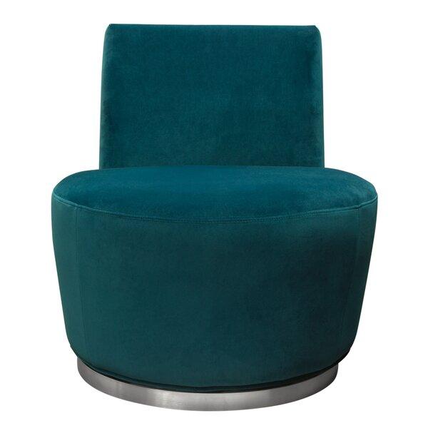 Blake Swivel Barrel Chair by Diamond Sofa