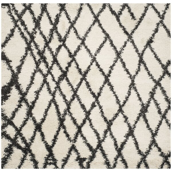 Malibu Ivory/Charcoal Area Rug by Trent Austin Design
