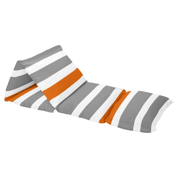 Stripe Floor Pillow Lounger Cover by Sweet Jojo Designs