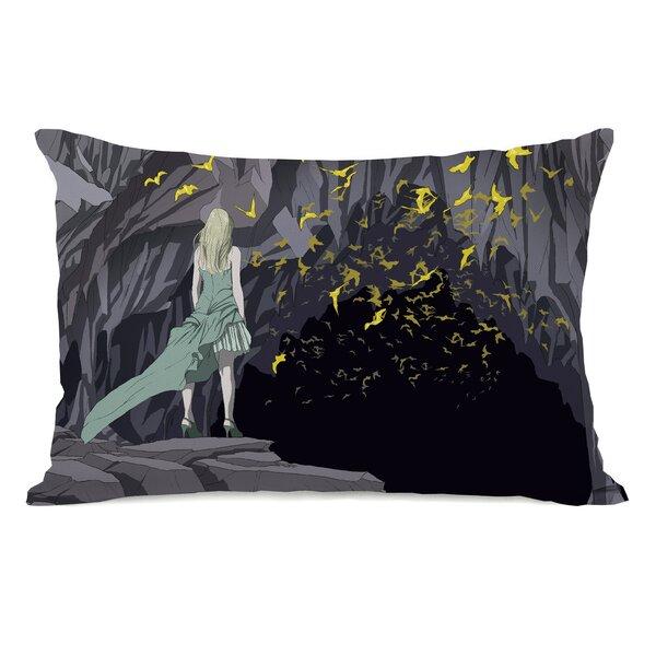 Bat Cave Lumbar Pillow by One Bella Casa